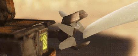 Анимация Грустная любовь, кадры из мультфильма WALL-E / ВАЛЛ-И