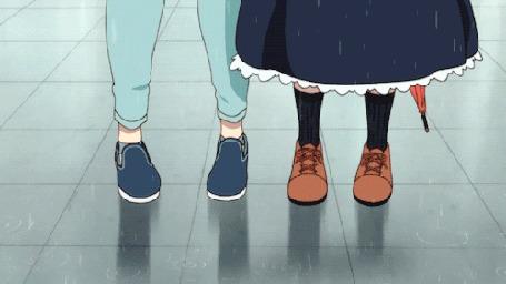 Анимация Тору / Tooru и Кобаяши / Kobayashi из аниме Дракон-горничная Кобаяши / Kobayashi-san Chi no Maid Dragon