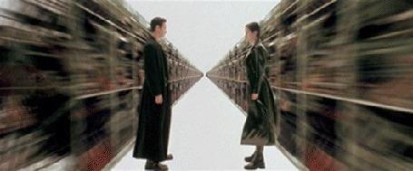 Анимация Кадры из фильма The Matrix / Матрица, 1999