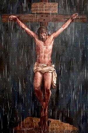 Анимация Распятие Иисуса Христа