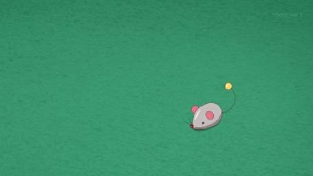 Анимация Эльза / Elza из аниме Кошачьи дни / Nyanko Days