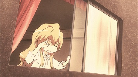 Анимация Тайга Айсака / Taiga Aisaka из аниме ТораДора! / Toradora!