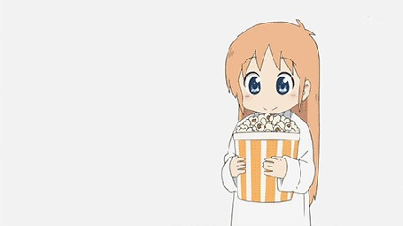 Анимация Профессор / Hakase Shinonome из аниме Мелочи жизни / Nichijou