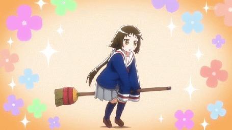Анимация Маширо Мицуминэ / Mashiro Mitsumine из аниме Помолвлена с незнакомцем / Mikakunin de Shinkoukei