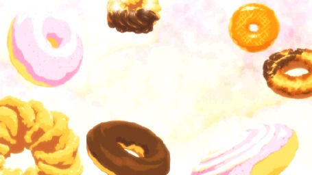 Анимация Синобу Осино / Shinobu Oshino из аниме Истории монстров / Bakemonogatari