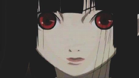 Анимация Ай Энма / Ai Enma из аниме Адская девочка / Jigoku Shoujo