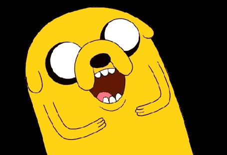 Анимация Пес Jake / Джейк весело хохочет, мультсериал Adventure Time / Время приключений