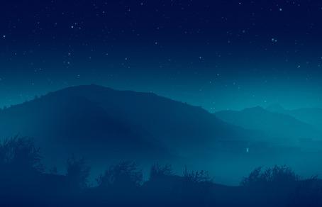Анимация Деревья колышутся от ветра, by Mikael Gustafsson
