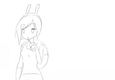 Анимация Фионна / Fionna из мультсериала Время приключений / Adventure time, by natto-ngooyen