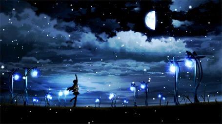 Анимация Кадр из аниме Девочка-волшебница Мадока