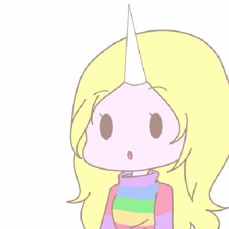 Анимация Леди Ливнерог / Lady Rainicorn из мультсериала Adventure Time / Время Приключений, by natto-ngooyen