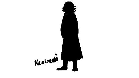Анимация Силуэт человека превращается в ворона, by NeoGenki