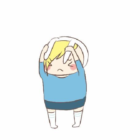 Анимация Фионна / Fionn из мультсериала Время приключений / Adventure time, by natto-ngooyen