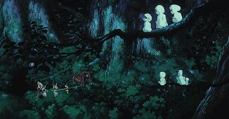 Анимация Кадры из аниме Princess Mononoke / Принцесса Мононоке