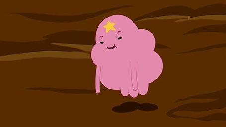 Анимация Принцесса Пупырка из мультсериала Adventure Time / Время Приключений