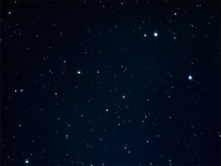 Анимация Ночное звездное небо, by Oamul Lu