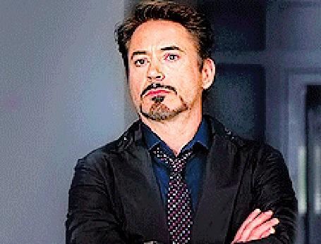 Анимация Роберт Дауни-младший / Robert Downey Jr. кадр из фильма Мстители / The Avengers