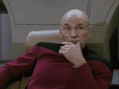 Анимация Персонаж фильма Звездный путь: Возмездие / Star Trek: Nemesis, Jean-Luc Picard / Жан-Люк Пикар