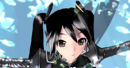 Анимация Vocaloid Hatsune Miku / Вокалоид Hatsune Miku