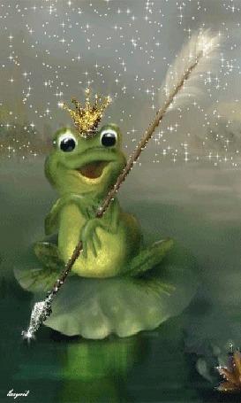 Анимация Иллюстрация к сказке Царевна - лягушка