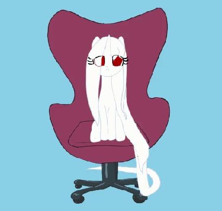Анимация Пони крутится на стуле, мультсериал My Little Pony: Friendship Is Magic / Дружба — это чудо