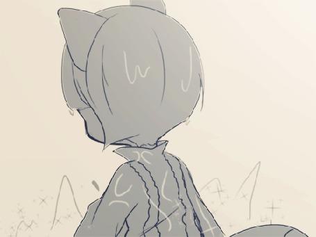 Анимация Нэко-девушки (butter), by Joyfool