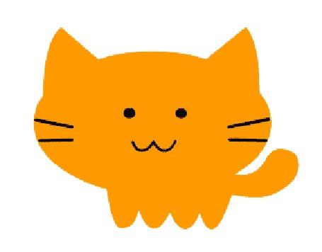 Анимация Рыжий прозрачный кот, by MrrrCat