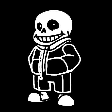 Анимация Санс / Sans из игры Undertale, by PowerOfSin