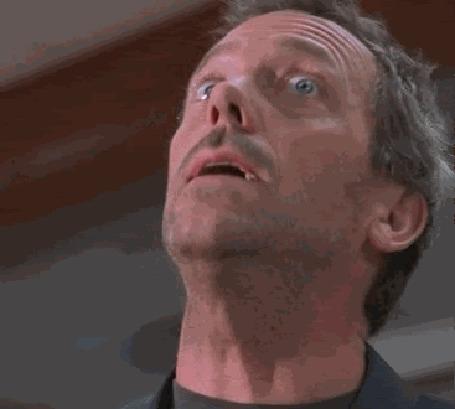 Анимация Хью Лори / Hugh Laurieв роли доктора Хауса / House M. D