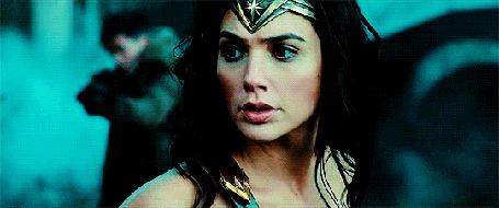 Анимация Израильская актриса и модель Gal Gadot / Галь Гадот в образе Чудо-женщины / Wonder Woman