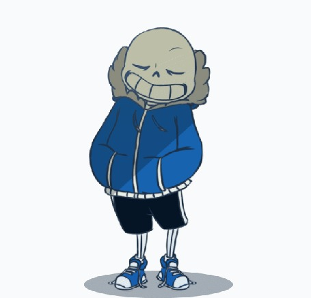Анимация Санс / Sans из игры Undertale, by v0idless