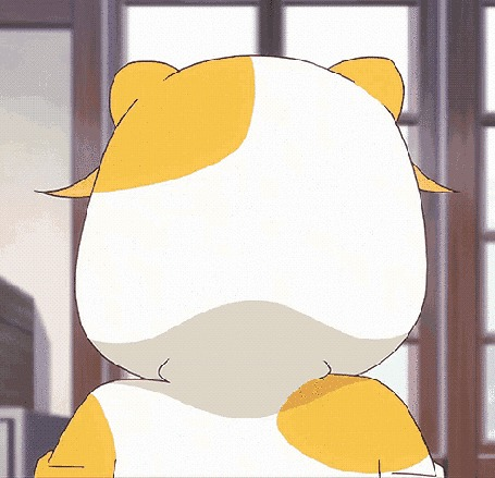 Анимация Мао Амацука / Mao Amatsuka из аниме Клуб добрых дел / GJ-bu в котопижаме (Meow Motherfucker / Мяу Ублюдок)