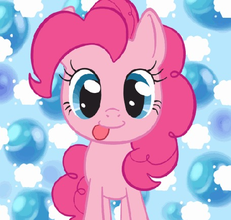 Анимация Пинки Пай / Pinkie Pie из мультсериала Мои маленькие пони: Дружба — это чудо / My Little Pony: Friendship is Magic, by SmilesFPS
