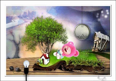 Анимация Удивительная сказка. by tim2ati