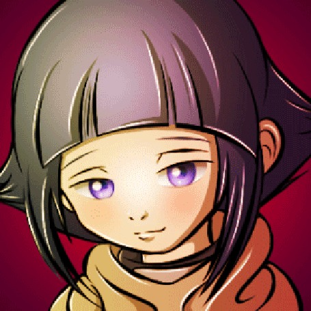 Анимация Hinata Hyuga / Хината Хьюга из аниме Наруто / Naruto, by R-no71