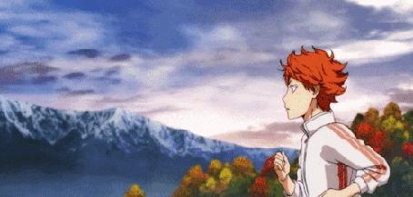 Анимация Shouyou Hinata / Шое Хината из аниме Haikyuu! / Волейбол!