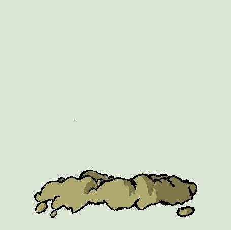 Анимация Диглетт / Diglett из аниме Pokemon / Покемон, by TheAggravatedArtist