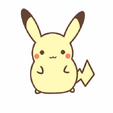 Анимация Пикачу / Pikachu из аниме Покемон / Pokemon, by SeviYummy