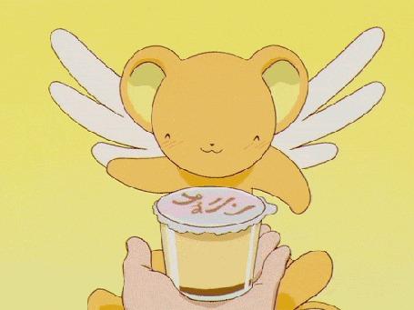 Анимация Керберос / Kero-chan / Керо-тян из аниме Cardcaptor Sakura / Сакура - собирательница карт / Сакура - ловец карт