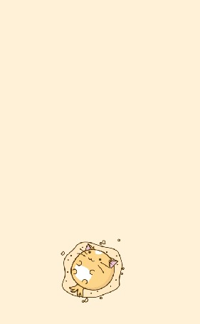 Анимация Пухлый кот раскатывает тесто, by TigarUK