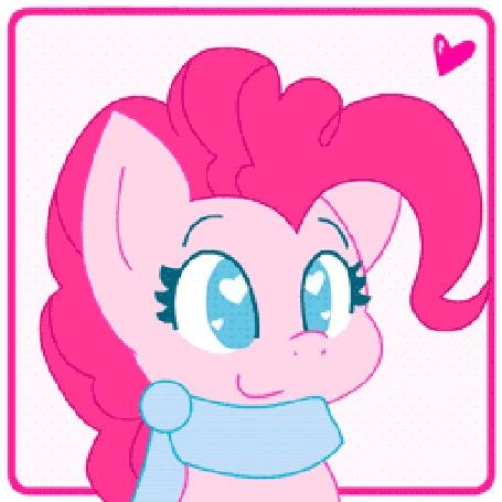 Анимация Pinkie Pie / Пинки Пай из мультсериала Мой маленький пони: Дружба – это чудо / My Little Pony: Friendship is Magic / MLP:FiM, by HungrySohma16