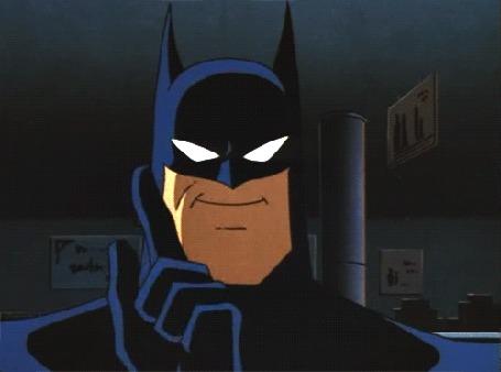 Анимация Batman / Бэтмен с чем - то несогласен