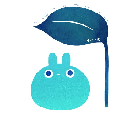 Анимация Смешное животное под листочком, by yoyothericecorpse
