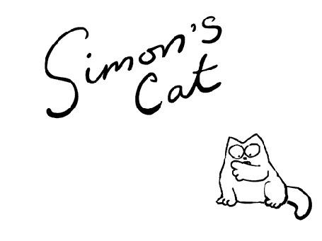 Анимация Анимация из сериала о коте Саймона (Simons Cat in Scary Legs)