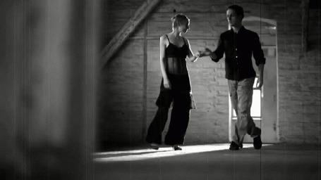 Анимация Парень с девушкой в танце