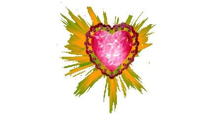 Анимация Сердечко на прозрачном фоне