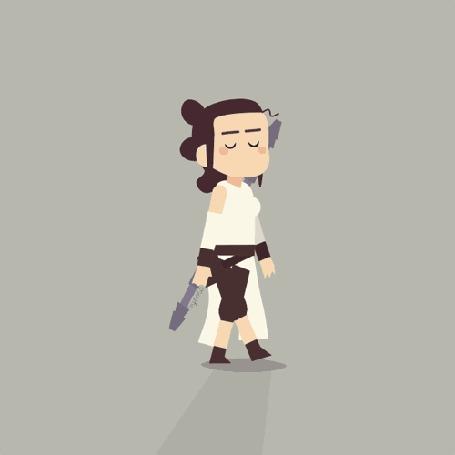 Анимация Пародия на звездные войны, by Fran Solo
