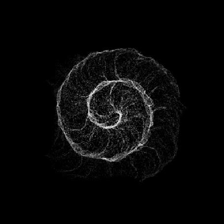 Анимация Абстракция для расслабления мозгов и на привлечение позитивных мыслей