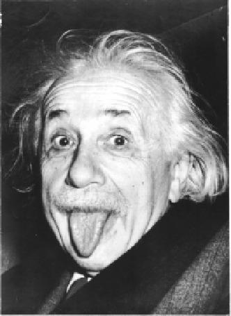 Анимация Альберт Эйнштейн с высунутым языком
