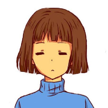 Анимация Frisk / Фриск из игры Undertale, by MisaKarin